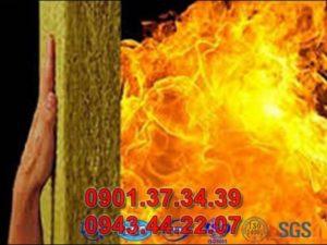 Panel bông thủy tinh chống cháy
